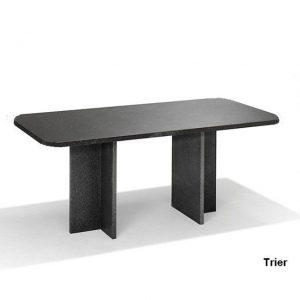 Nvt Eettafel-Tuintafel 220 x 100 cm Trier - Natuursteen - Studio 20