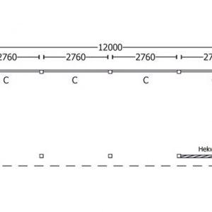 Nvt Tuinhuis / Blokhut Trendhout Buitenverblijf Refter XL 12000mm B