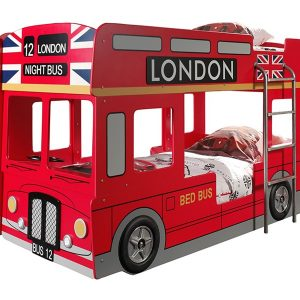 Stapelbed London Bus