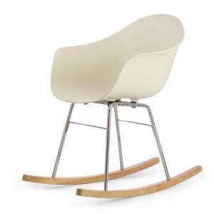 Toou TA schommelstoel ? Met armleuning - ER Metalen poten - Retro - Kunststof