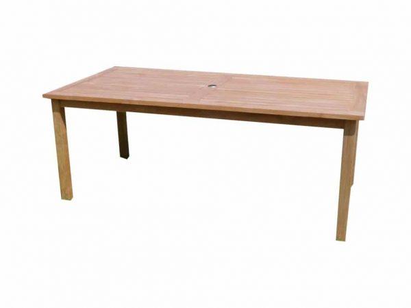 Selena 240x100x79 tafel rechthoekig