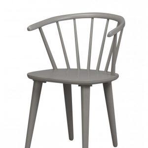 Nordiq Carmen stoel - Grijs - Houten spijlen stoel Combineer met de HAY J104