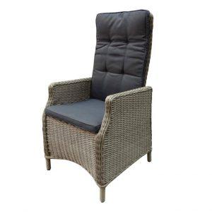 Empoli Sand verstelbare rugleuning stoel.
