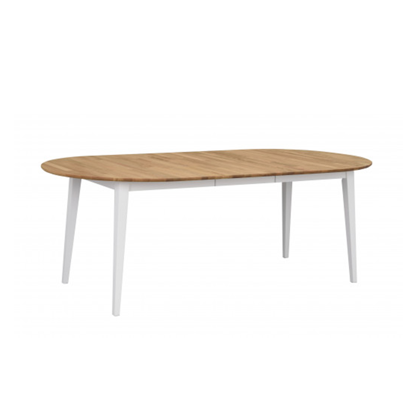 Uittrekbare Eiken Tafel.Nordiq Filippa Table Uitschuifbare Eettafel Ovaal 170 Tot 210