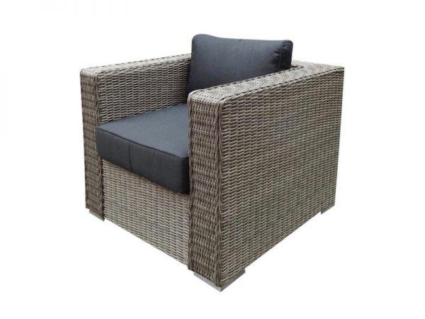 Matino lounge tuinstoel grijs