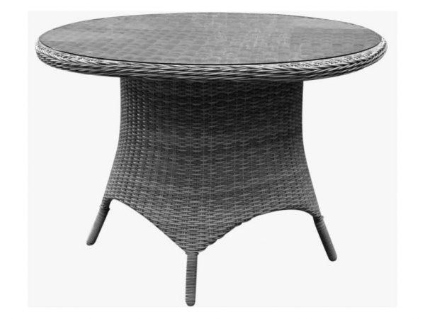 Riccione dining tuintafel 110 cm kobo grijs