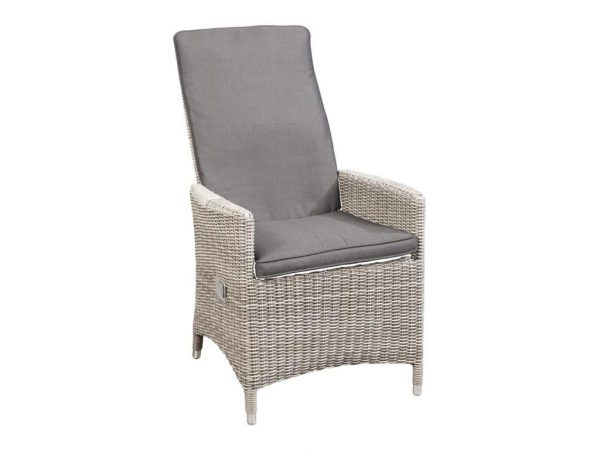 SUNS Nanno verstelbare dining stoel white grey + antraciet
