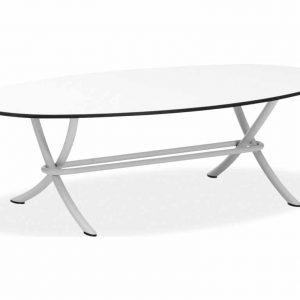 Match tafel 130x70x45 grey + slimtop