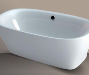Xenz Daan vrijstaand ligbad 180 x 80 cm wit