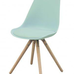 Essence Legno Pastel kuipstoel - Houten onderstel - Scandinavisch ? design - als Luuk, Interstil Woody, Tryck, Jens