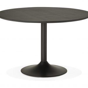 Kokoon Design Eettafel 'Paton 120', kleur Zwart