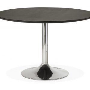 Kokoon Design Eettafel 'Bleta 120', kleur Zwart
