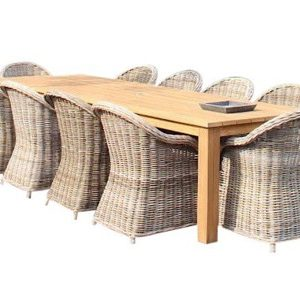 Old Java Roma dining tuinset 320x110xH77,5 cm 11 delig