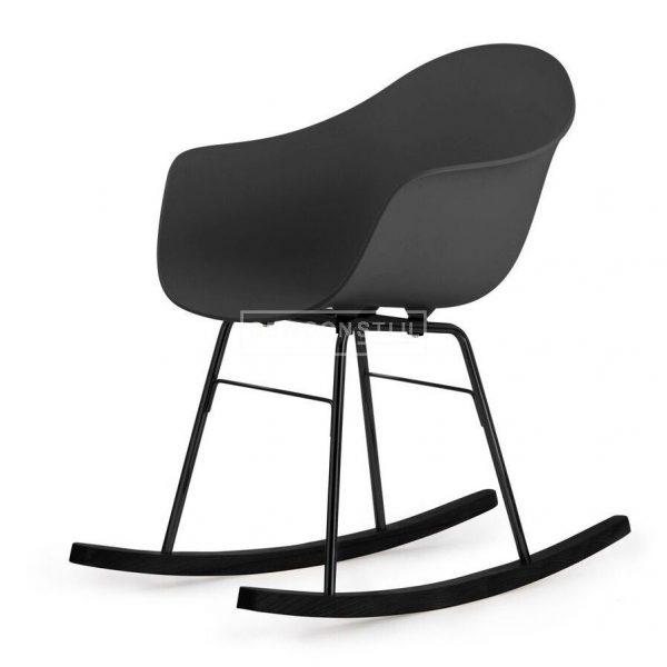 Toou TA schommelstoel ? Met armleuning - ER Zwarte poten - Kunststof - Design