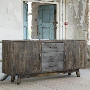Mioni Dressoir 'Ruff Solid' met 2 deuren en 3 laden