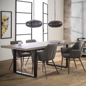 Mioni Eettafel 'Ruff Solid' 180 x 90cm