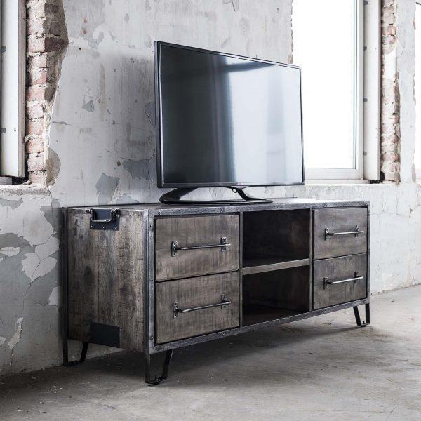 TV-meubel 'Rift' 150cm met 4 laden