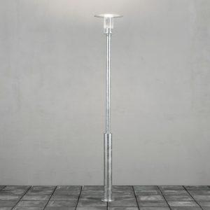 Konstsmide Buitenlamp 'Mode' Staande lamp, 220cm hoog, PowerLED 1 x 8W / 230V