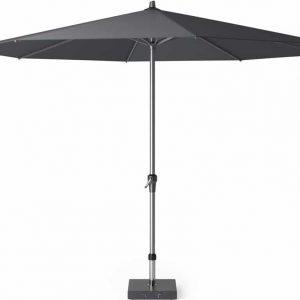 Riva parasol 350 cm antraciet met dikke mast