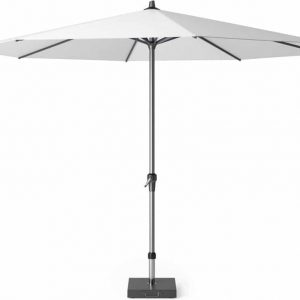 Riva parasol 350 cm wit met dikke mast
