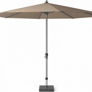 Riva parasol 350 cm taupe met dikke mast