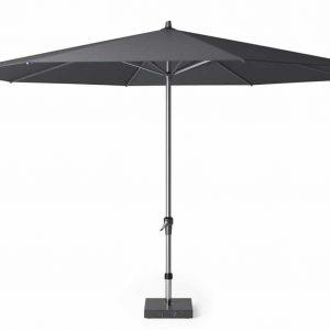 Riva parasol 400 cm antraciet met dikke mast