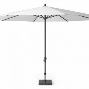 Riva parasol 400 cm wit met dikke mast