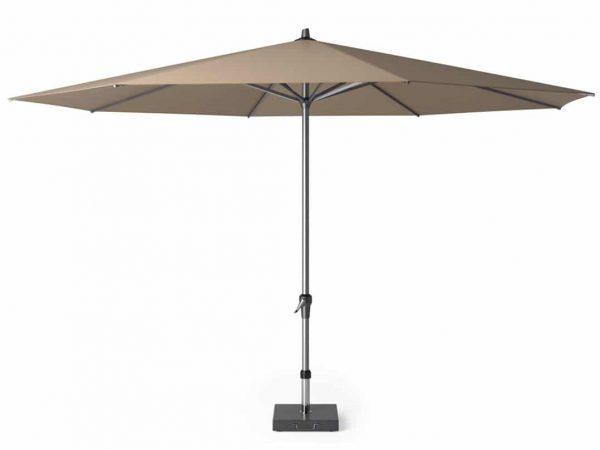 Riva parasol 400 cm taupe met dikke mast
