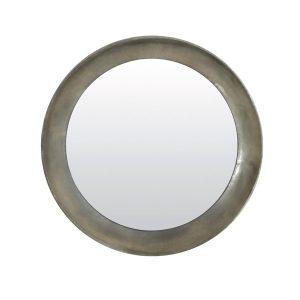 Light & Living Ronde Spiegel 'Spirit' 80cm, kleur antiek zilver