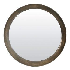 Light & Living Ronde Spiegel 'Spirit' Ø120 cm, antiek zilver