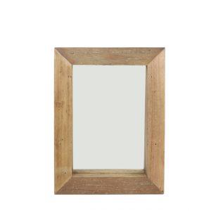 Light & Living Spiegel 'View', hout