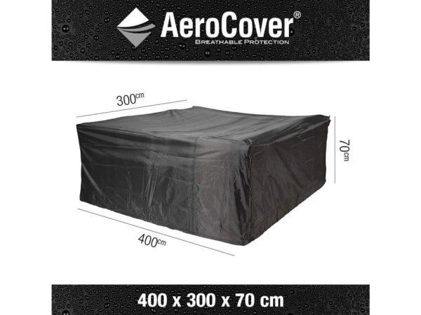 Loungesethoes 400x300xH70 cm - AeroCover