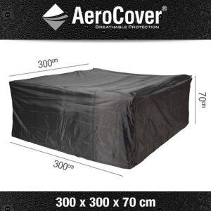 Loungesethoes 300x300xH70 cm - AeroCover