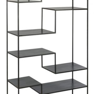 J-Line Boekenkast 'Monic' kleur zwart