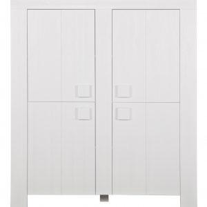 Woood Opbergkast 'Dirk' 140cm, kleur Wit