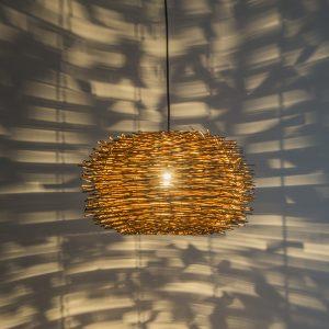 Hanglamp Hatch 45 bruin