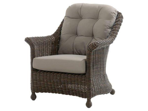 Madoera living lounge stoel 4-Seasons Outdoor