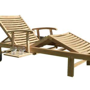 Comfort lounger ligbed