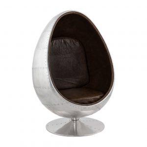 Kokoon Design fauteuil 'Uovo Alu'