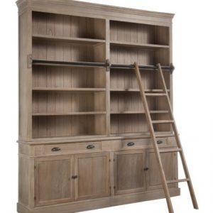 J-Line Boekenkast 'Teresa' met ladder