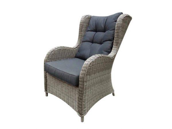 Arezza lounge tuinstoel kobo grijs
