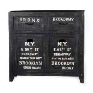 Artistiq Halkastje 'Bronx', 90 x 85cm