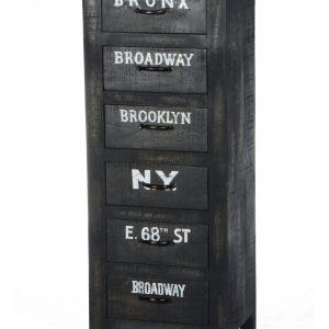 Artistiq Ladenkast 'Bronx' met 6 laden