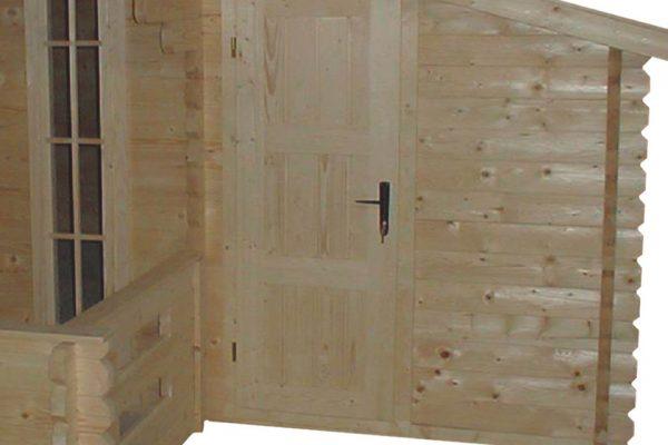 Aanbouw/Zijdak Interflex aanbouw 30 Onbehandeld