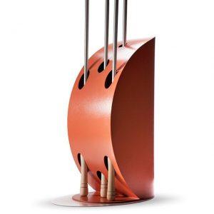 Alfa Pizza Vela Peel Holder - Copper