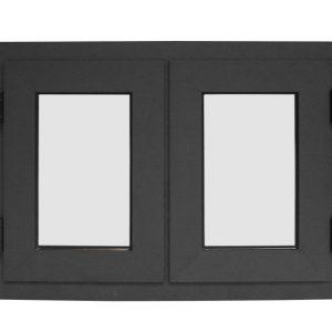 Fonteyn Aluminium dubbel raam 74 x 103 cm