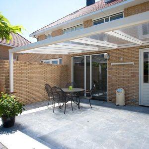 Aluxe Trendline veranda met platen 5000x2500