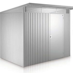 AvantGarde Biohort met standaard deuren L zilver metallic