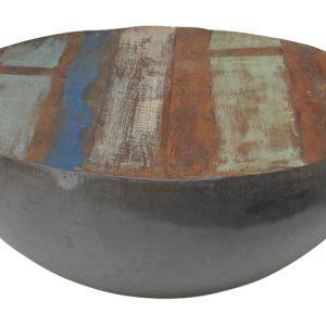 Brix Salontafel 'Kurt' Bowl metaal 90cm, kleur multicolor