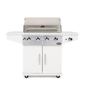 Barbecue Boretti Da Vinci incl. wokbrander bianco